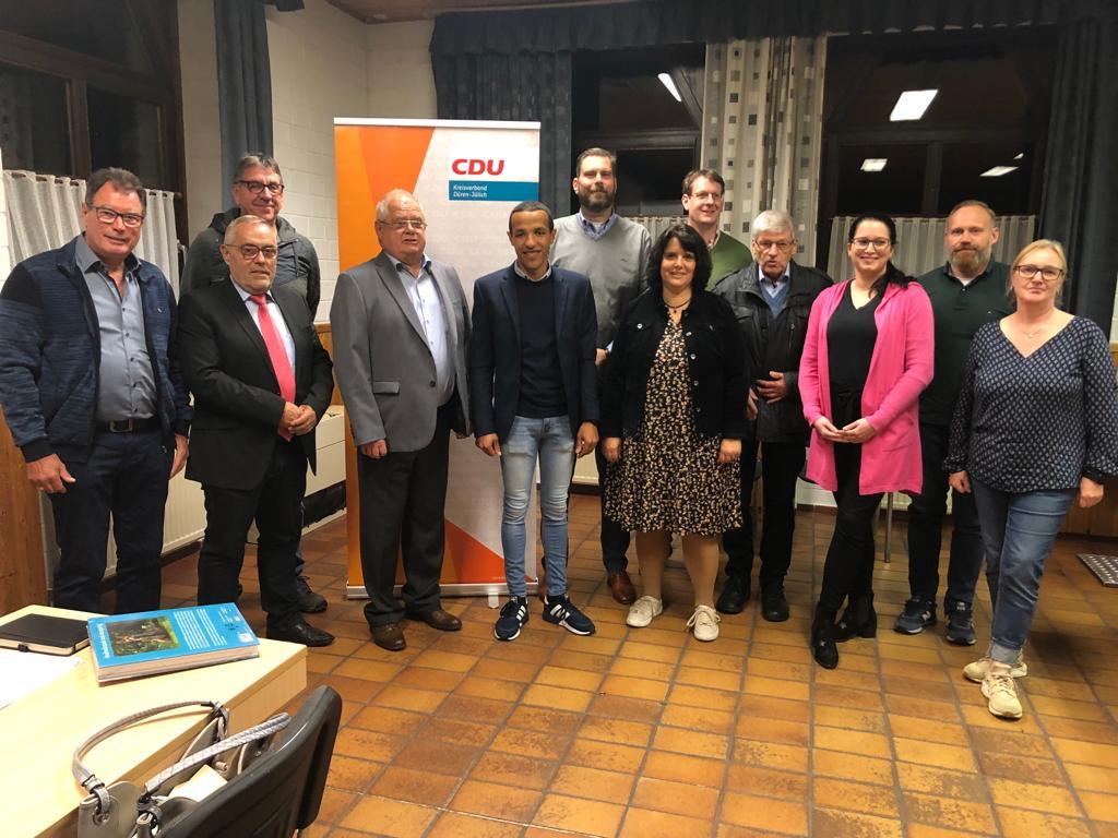 Neuwahlen des CDU Gemeindeverbandes Aldenhoven und feierliche Ehrung langjähriger Mitglieder