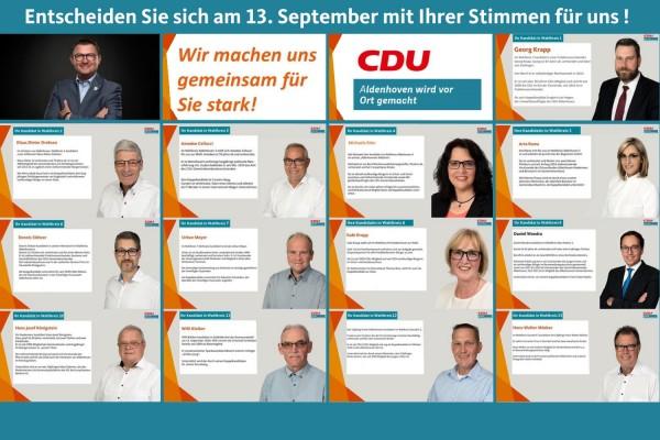 Wahlen 13. September 2020